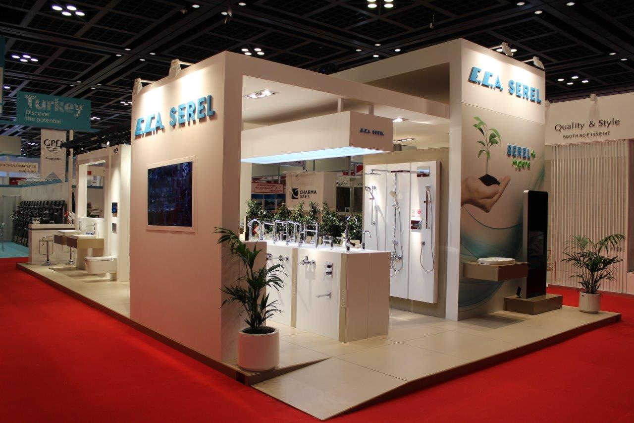 Large Exhibition Stall : E c a serel in dubai big show fair…