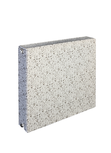 Patterned Panel Radiator